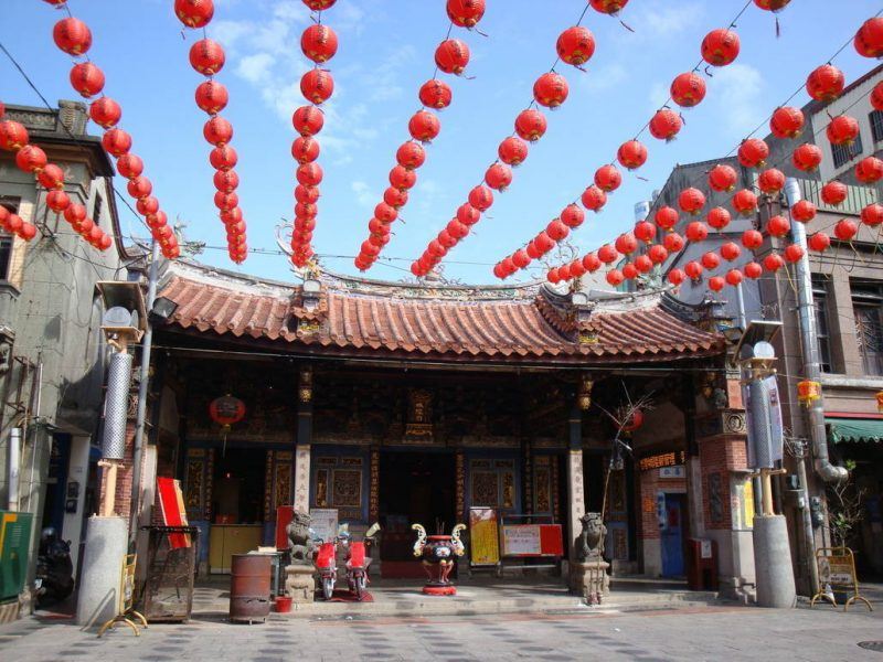City God Temple (Cheng Huang Miao) in Zhongshan Road