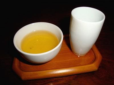 Oolong tea from Alishan